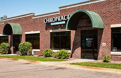 Chiropractic Ramsey MN Office Front